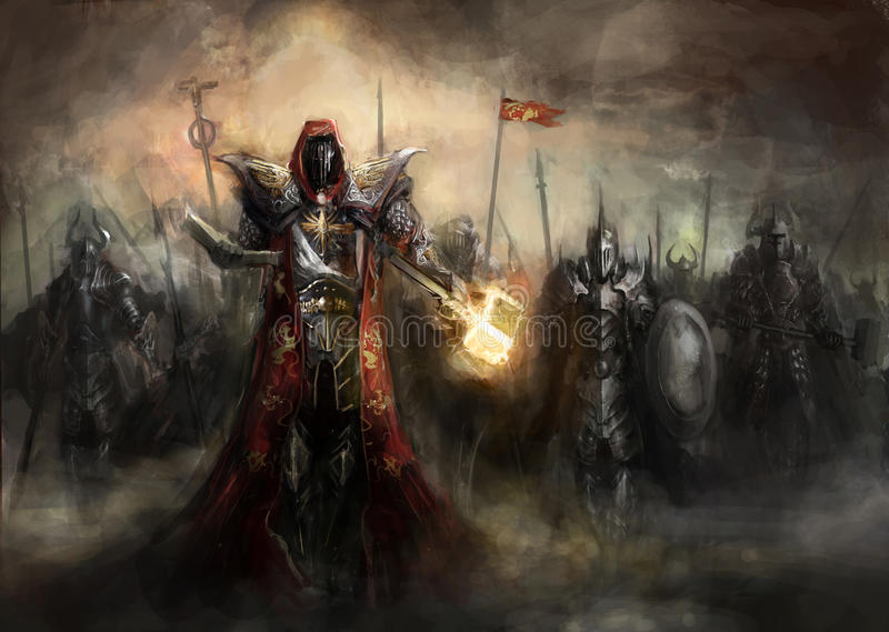 Wojna ilustracja wektor