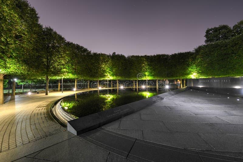Wojna Koreańska pomnik, Waszyngton, DC zdjęcia royalty free