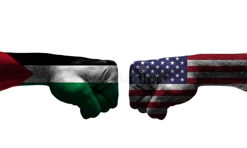 Wojna między 2 krajami zdjęcie royalty free
