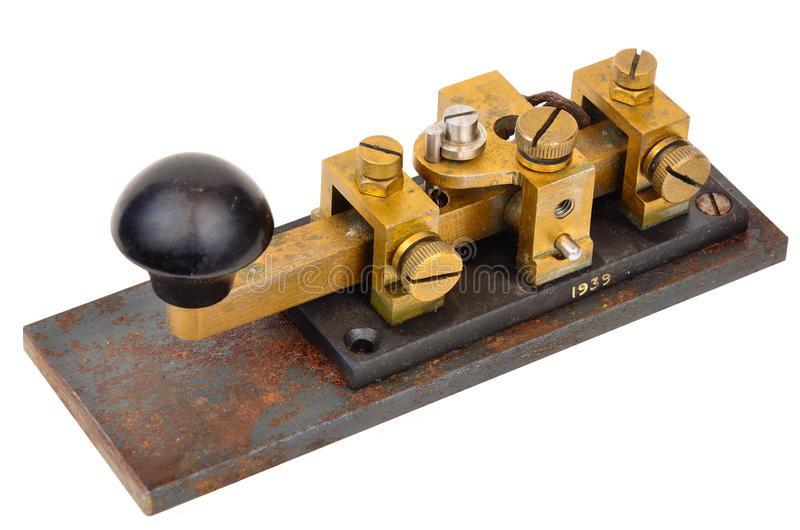 Wojny światowa dwa zbiornika Morse klucz obrazy stock