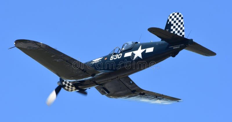 Wojny Światowa ery Vought F4U Corsair zdjęcia stock