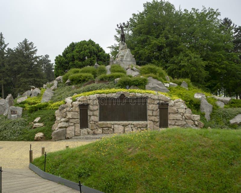 Wojny Światowa 1 pomnik fotografia royalty free