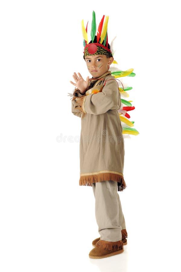 wojowników indyjscy potomstwa zdjęcia royalty free