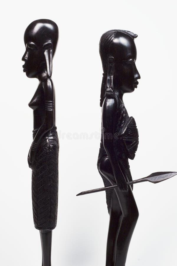 wojownik afrykańskiego walczyła kobieta obrazy royalty free
