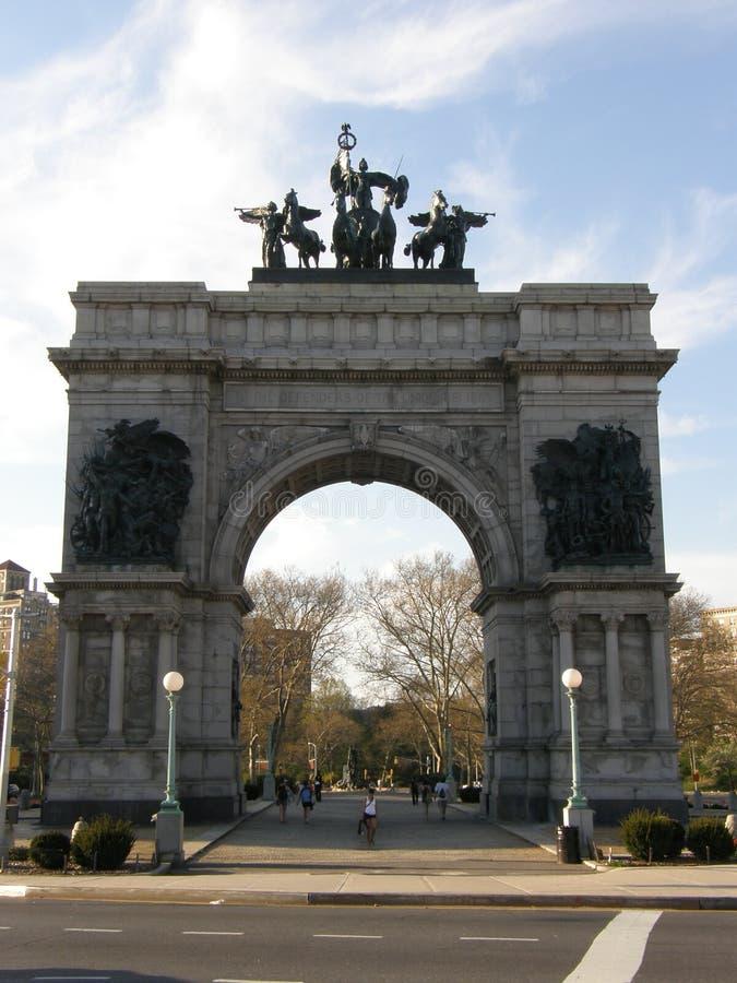 wojska Brooklyn miasta uroczysty nowy plac York zdjęcie royalty free