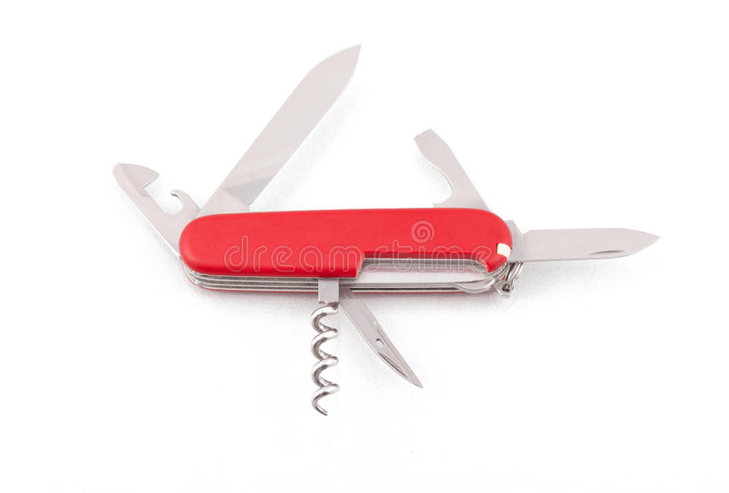 Download Wojska Noża Otwarty Szwajcar Zdjęcie Stock - Obraz złożonej z arne, technologia: 41954484