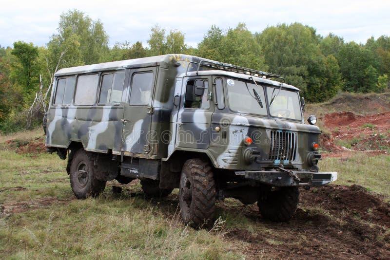 wojsko autobus obraz royalty free