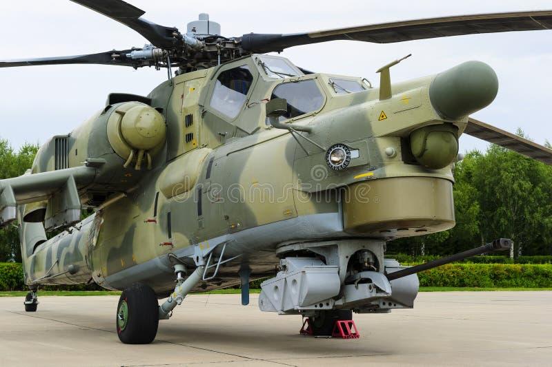 Wojsko bojowy helikopter obraz stock