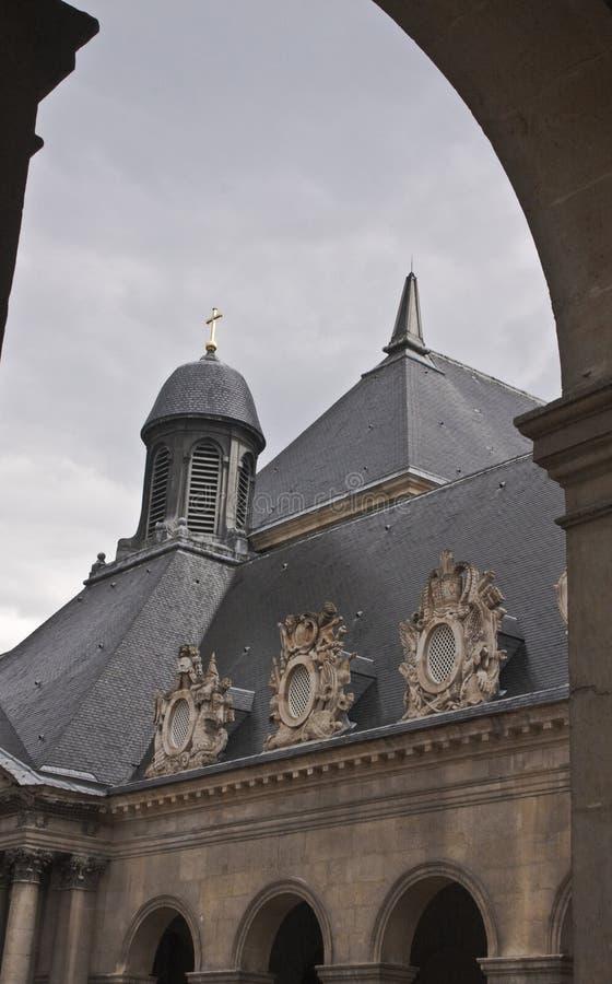 Wojsko Muzealny budynek, Paryż obrazy stock