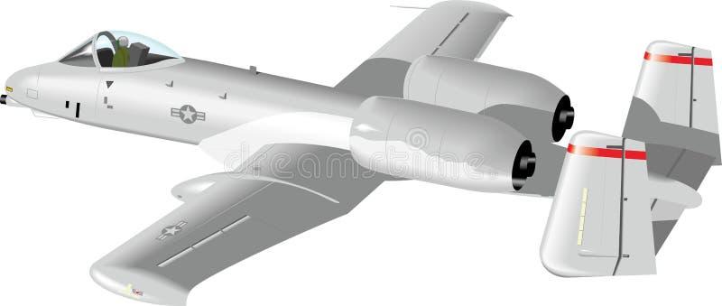 Wojsko samolot zdjęcia stock