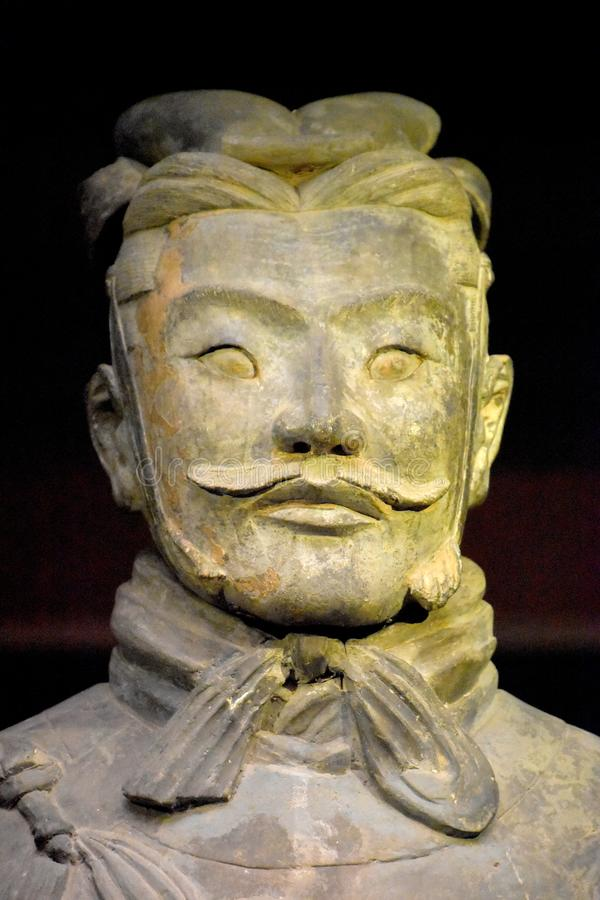 Wojsko Terakotowi wojownicy i konie, Xian, Chiny zdjęcie stock