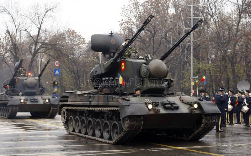 wojsko zmusza zbiorniki fotografia royalty free