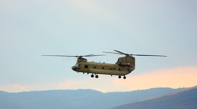 1 wojskowa okupacja ratunek helikoptera obraz stock