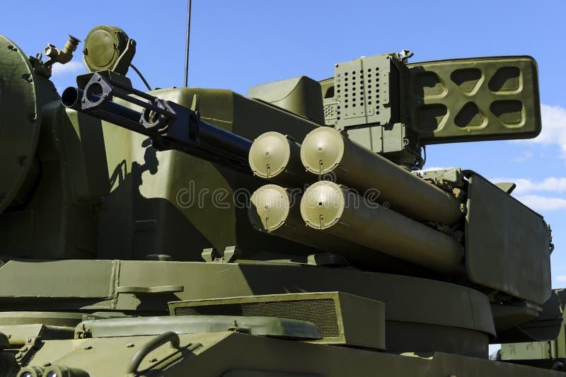 Wojskowego śpioszka bojowy pojazd fotografia stock