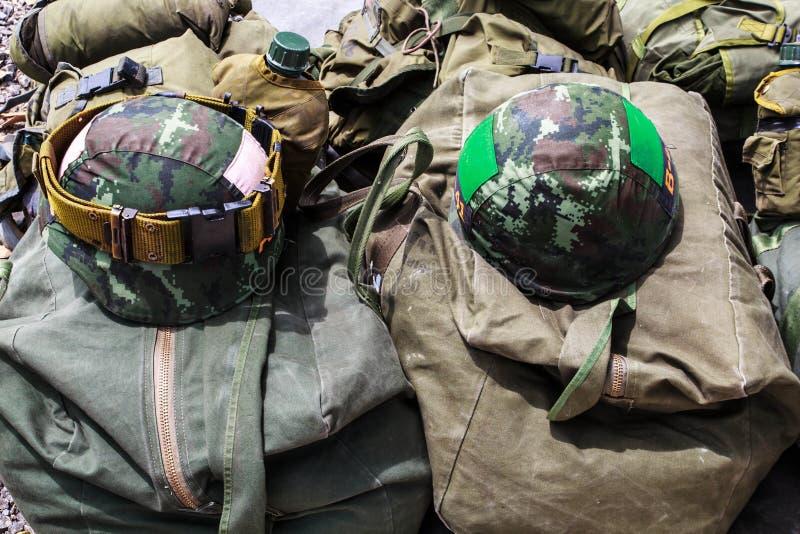 Wojskowy uniform. obraz royalty free