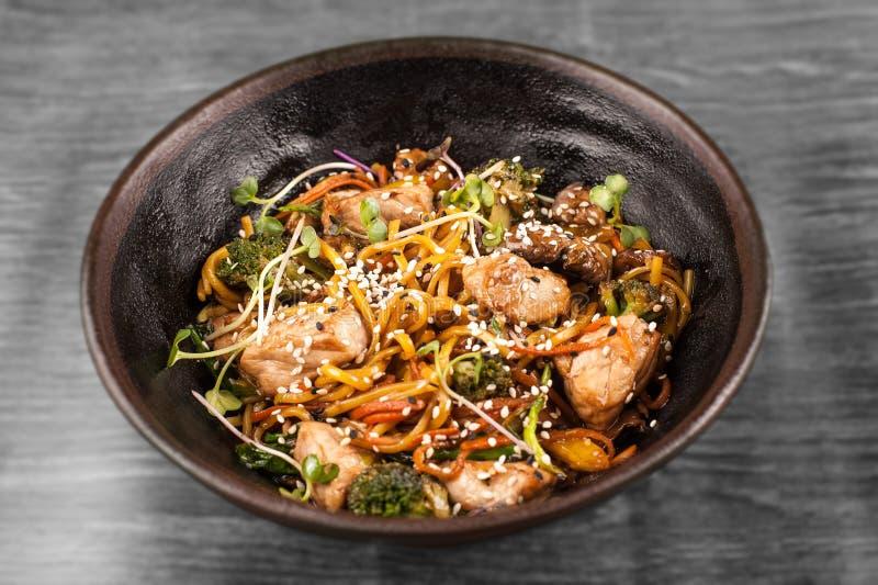 wok imagem de stock