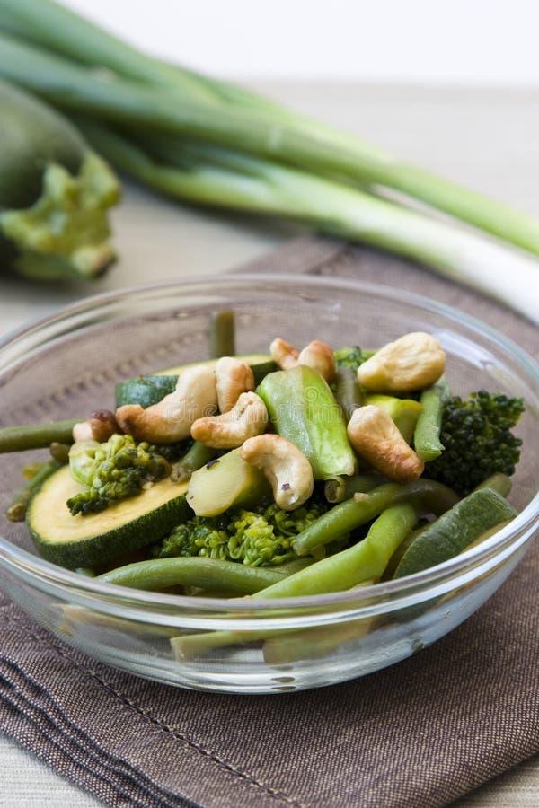 Wok-Gemüse stockbilder