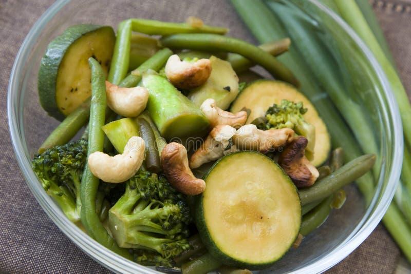 Wok-Gemüse lizenzfreie stockfotos
