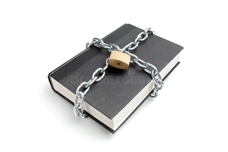 wokoło ciężkiego książka łańcuchu obraz stock