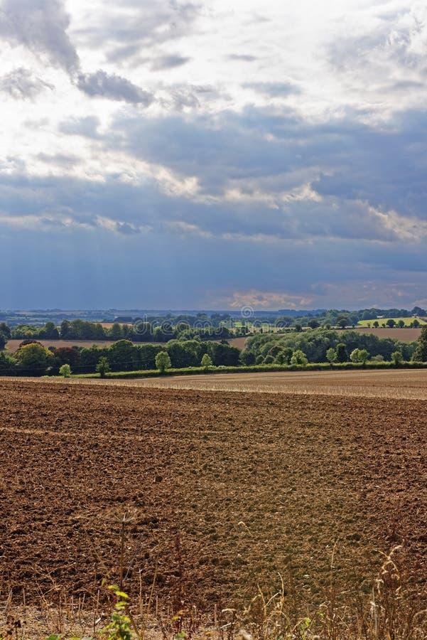 Wolds de Lincolnshire, Reino Unido foto de archivo