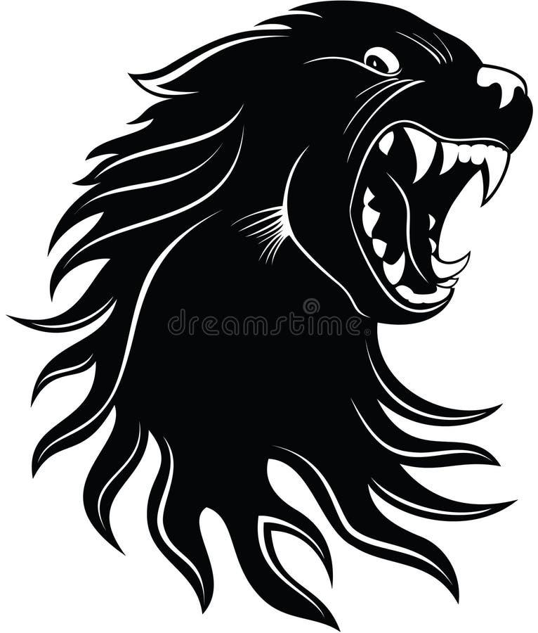 Wolf stock illustratie