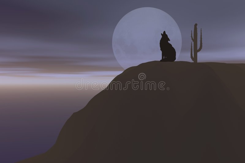 Download Wolf stock illustration. Image of wolf, carnivore, full - 1606166