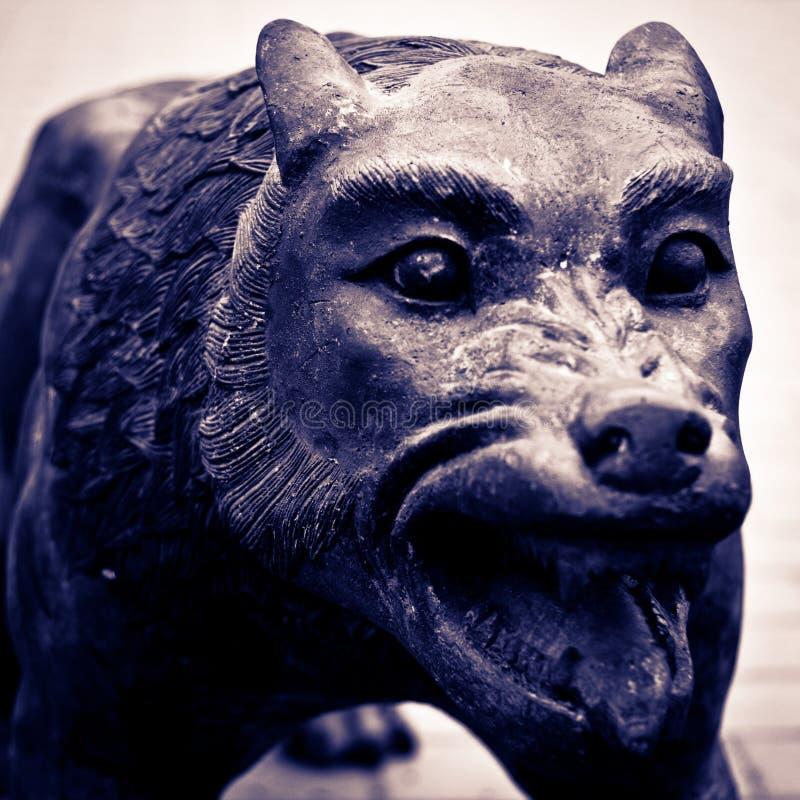Download Wolf stock photo. Image of fear, render, rabies, alien - 18293944