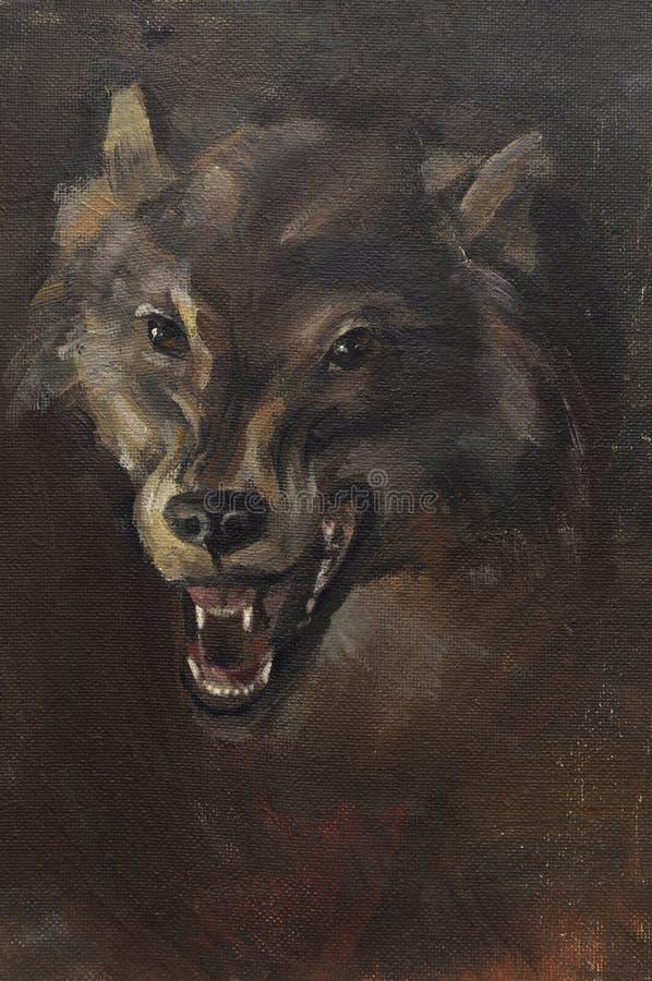 Download Wolf stock illustration. Illustration of teeth, wild - 20491262