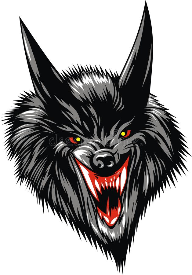 Download Wolf devil stock vector. Illustration of death, strong - 31582999