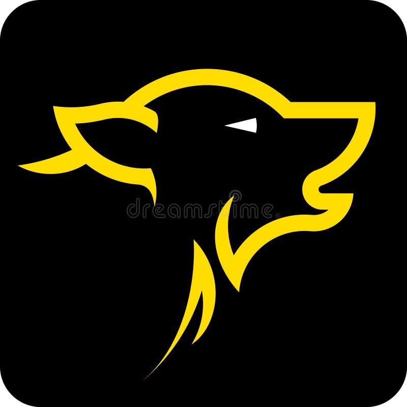 Download Wolf head stock vector. Image of vector, head, rebellion - 27595227