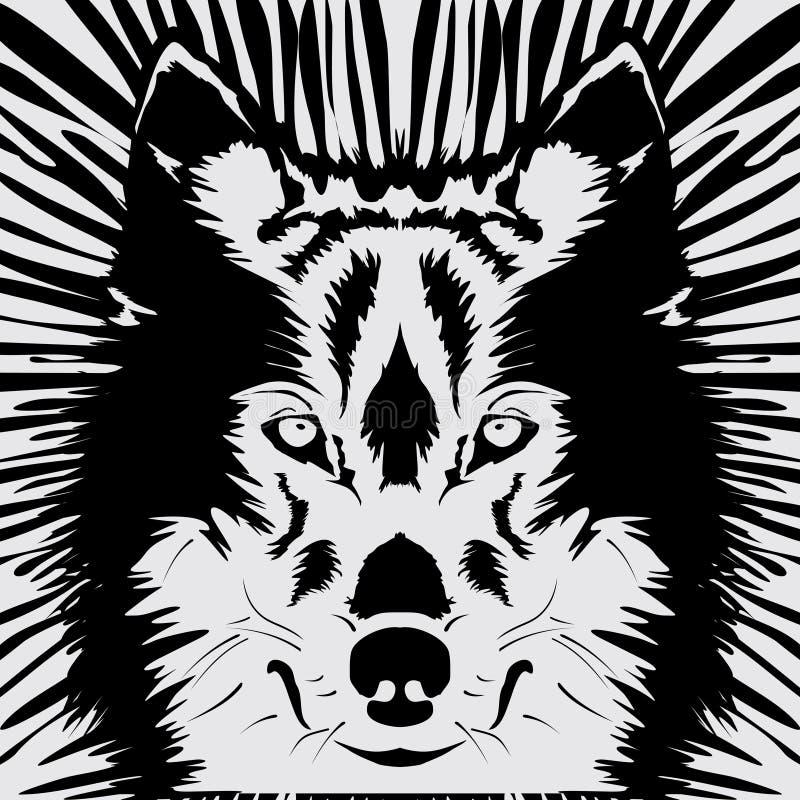 Wolf Head royaltyfri fotografi