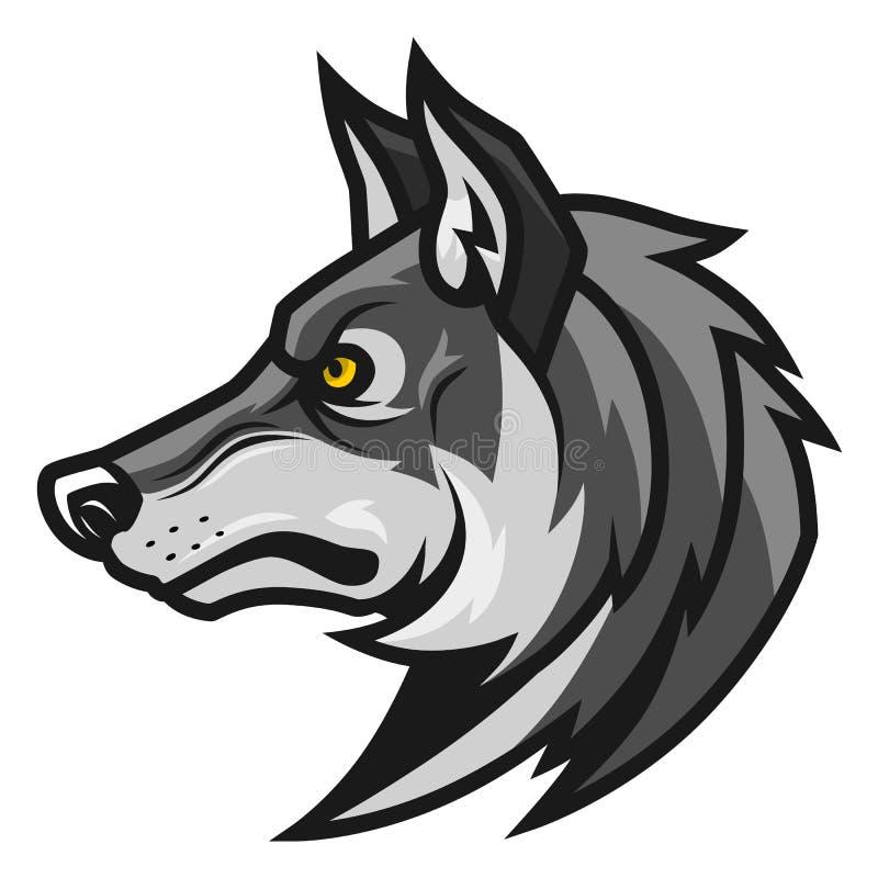Free Wolf Head Profile Royalty Free Stock Photos - 90726128