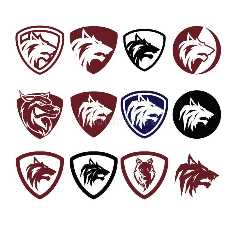 Wolf Icon Logo Vector stock photography