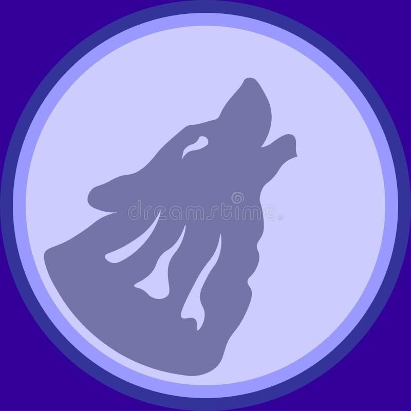 Wolf Logo royalty free stock photography