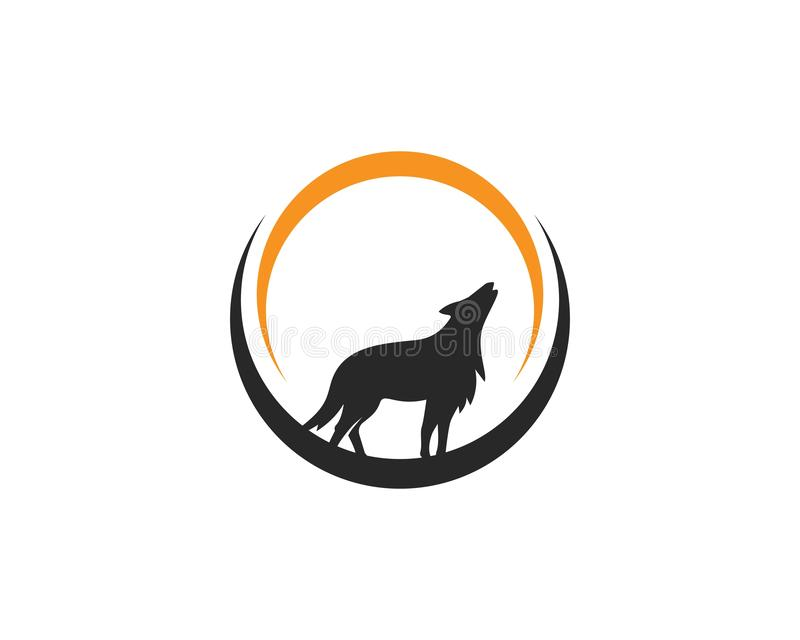 Wolf Logo vector. Template vector illustration