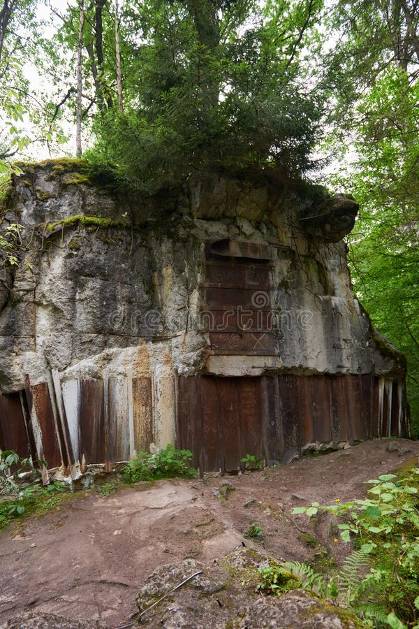 Free Wolf`s Lair-Bunker Museum In Poland. Royalty Free Stock Photo - 127597135