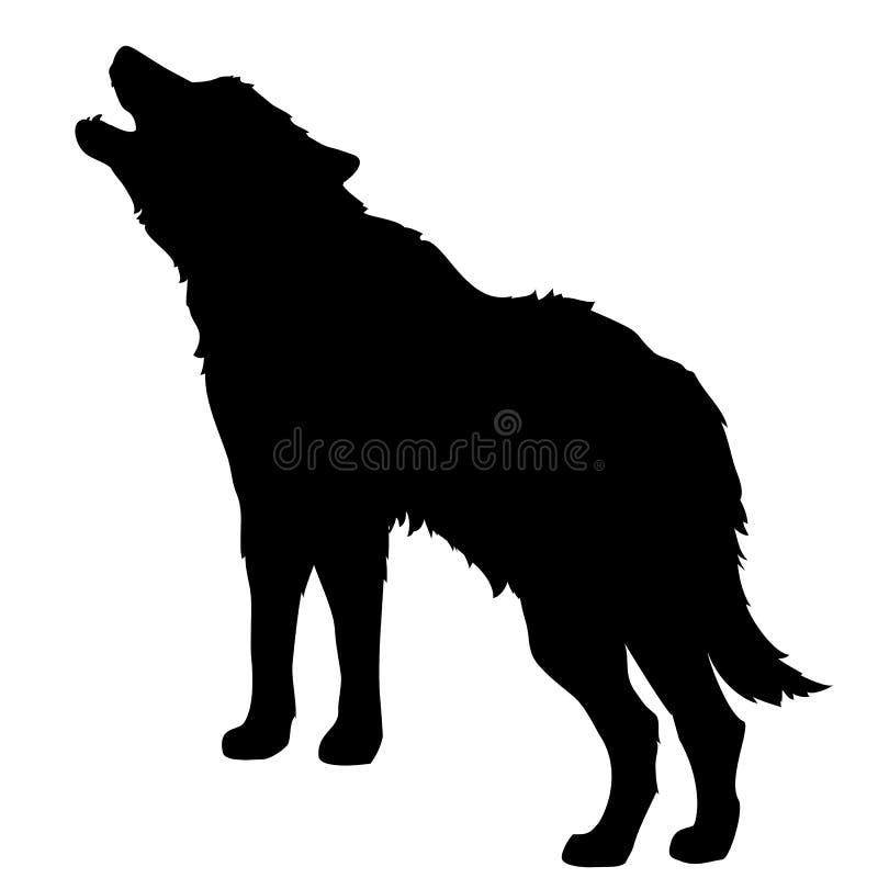 Wolf stock illustration