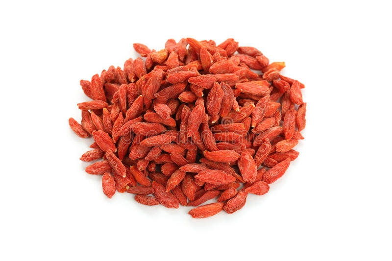 Wolfberry secado (baga do goji), chineses tradicionais ele fotos de stock royalty free