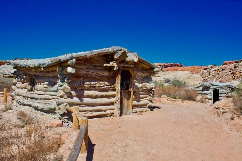 Wolfe rancho przy łukami obraz stock