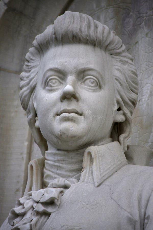 Wolfgang Amadeus Mozart fotografía de archivo