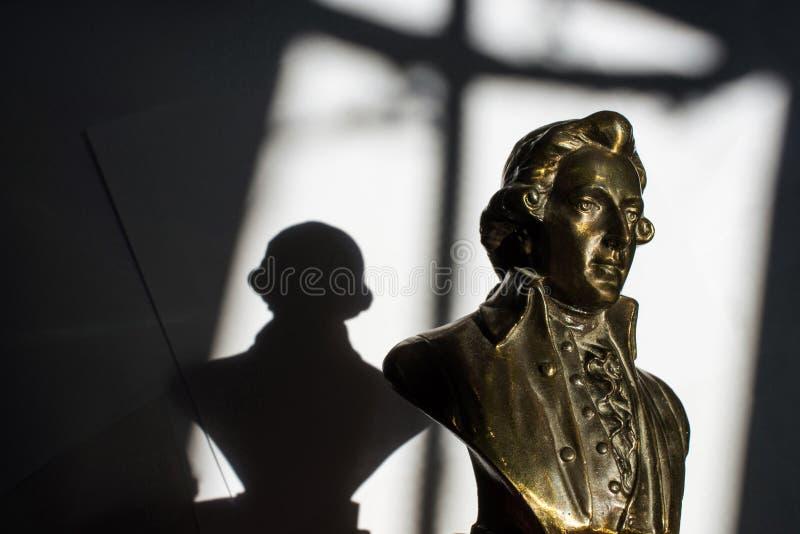 Wolfgang Amadeus Mozart royalty-vrije stock fotografie