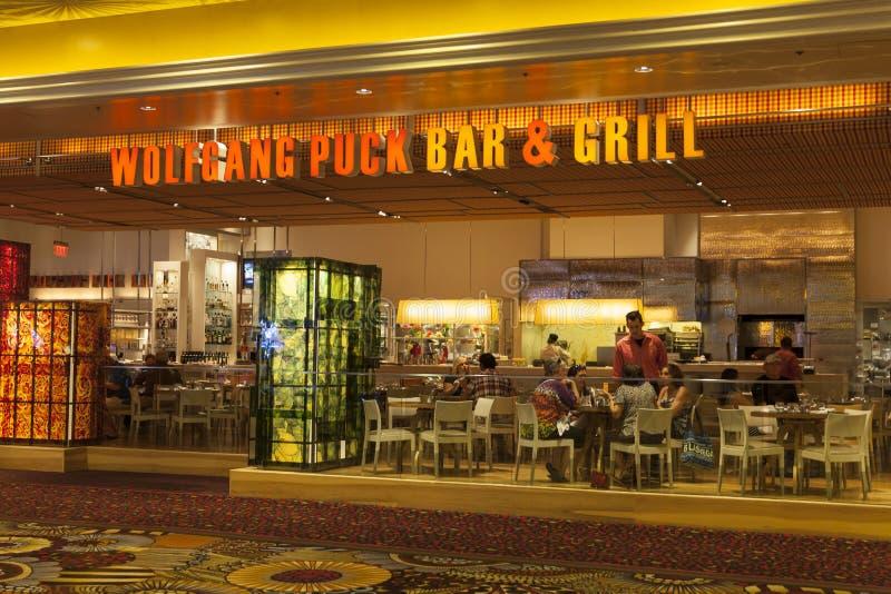 Wolfgang Puck Bar e griglia a MGM a Las Vegas, NV il 6 agosto fotografia stock