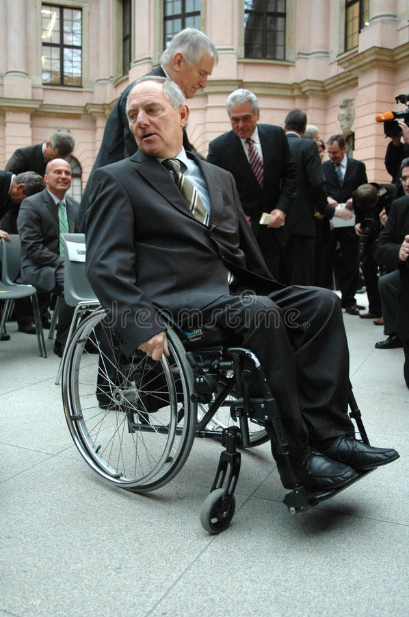 Wolfgang Schaeuble royalty free stock photo