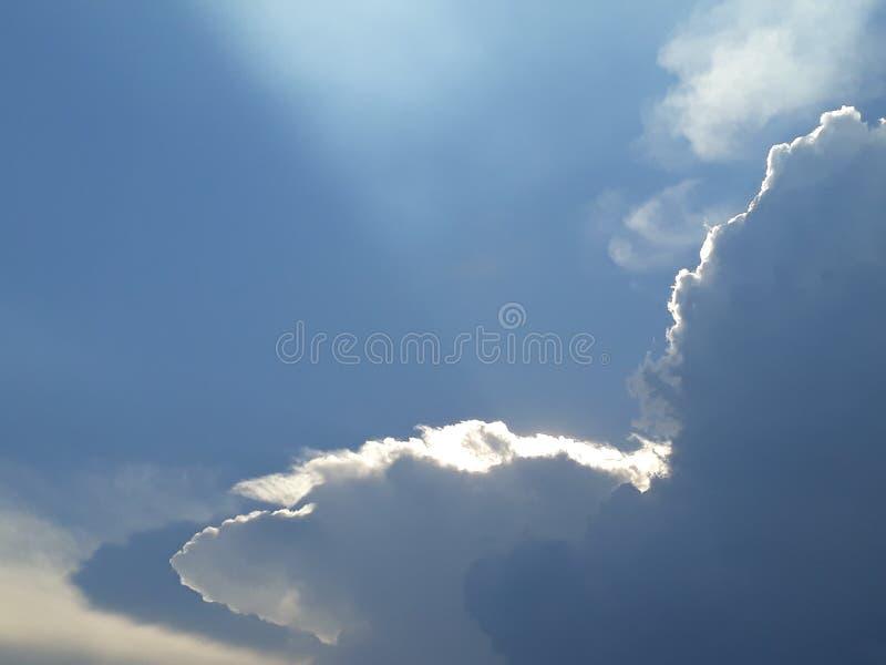 wolk stock afbeelding