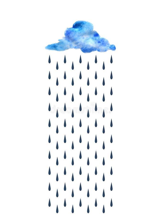wolk stock illustratie