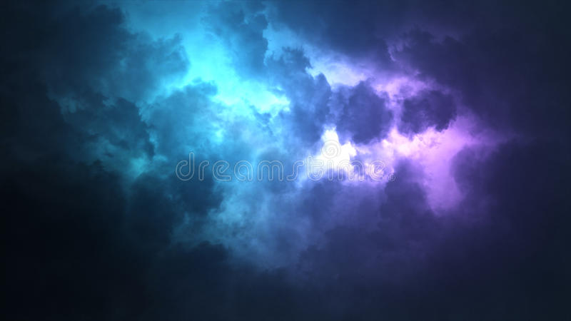 wolk royalty-vrije stock afbeelding
