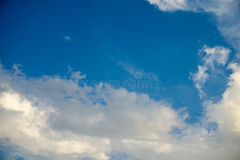 Wolk en hemel stock fotografie