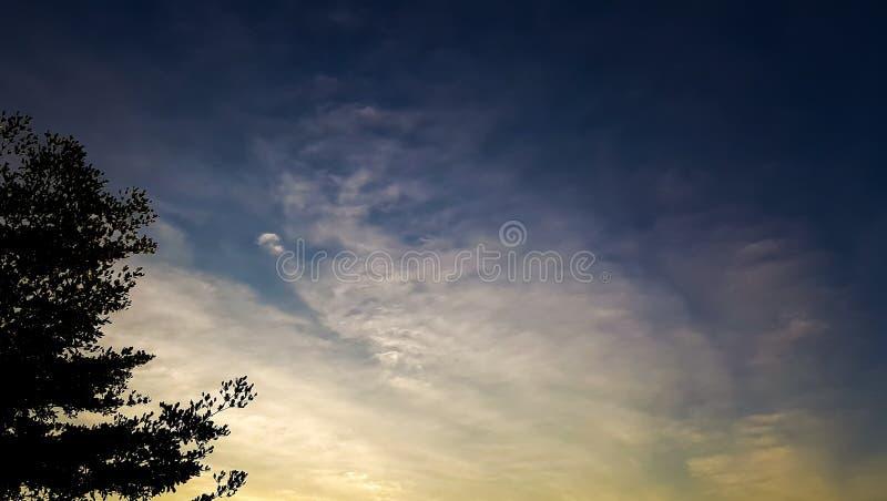 Wolk en hemel stock afbeeldingen