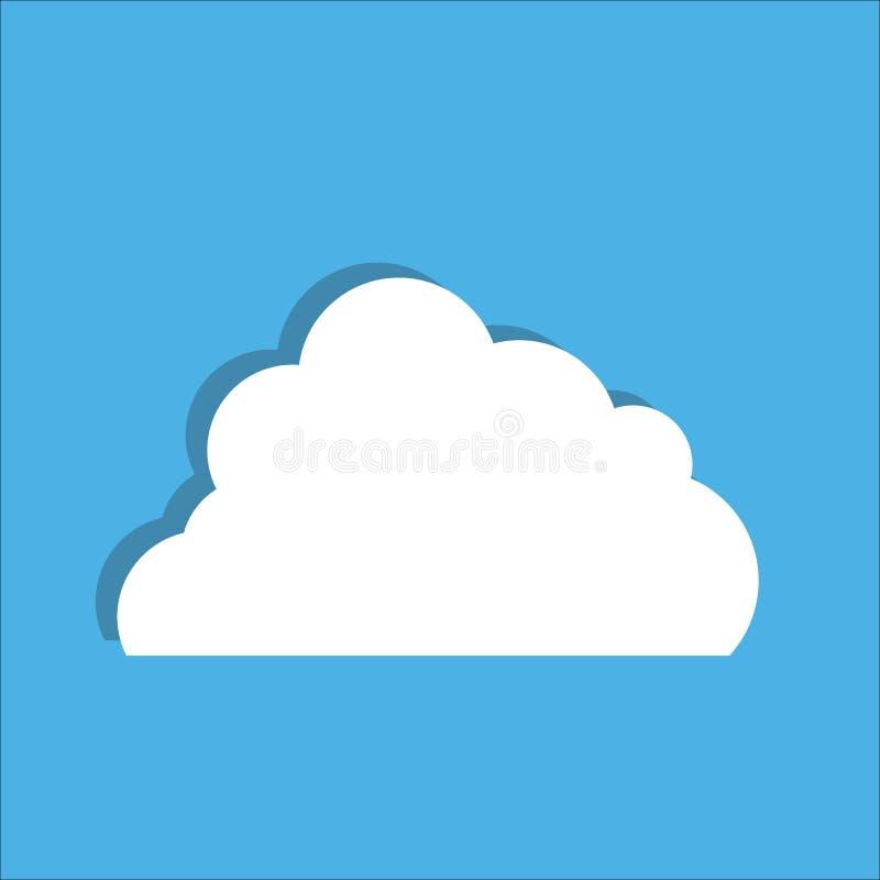 wolke Auch im corel abgehobenen Betrag lizenzfreie abbildung