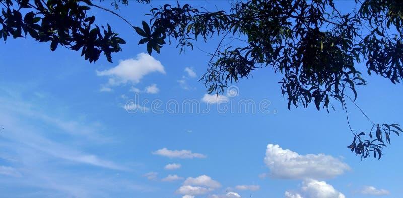 Wolke in der Locke lizenzfreie stockbilder